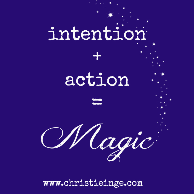 The Spiritual Law of Intention Pictures