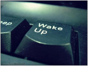 wake-up-button