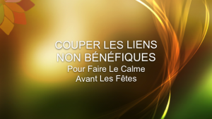 COUPER-LES-LIENS