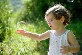 bulle de protection pour les enfants (avant d'aller faire dodo)